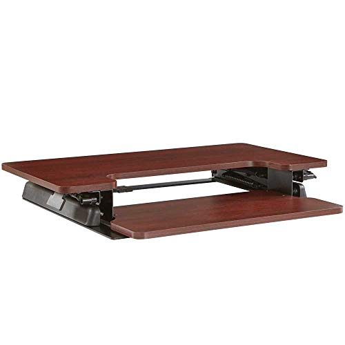 Office Star NAP3529MAH Napa Desk Riser with Keyboard Tray -