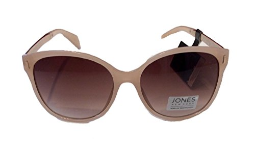 Jones New York Women's Sunglasses, Blush/Gradient Brown Lens, One - Sunglasses Jones