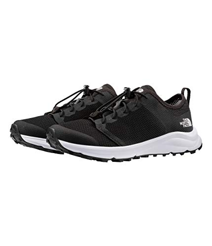 - The North Face Litewave Flow Lace II Hiking Shoe - Women's TNF Black/TNF White 9