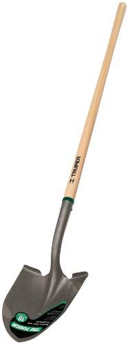 Truper 33037 Tru Tough Round Point Shovel with 48'' North American Ash Handle by Truper
