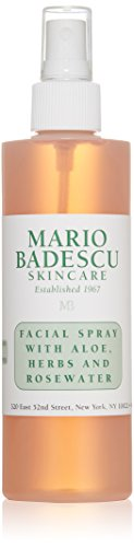 Mario Badescu Facial Spray with Aloe, Herbs and Rosewater, 8 Fl Oz