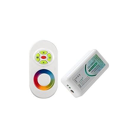 Controlador RGB con Control Remoto para focos, LED, Piscinas, Jardín: Amazon.es: Iluminación