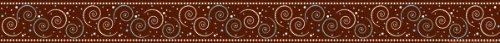 Dot Swirl Border (Barker Creek - Office Products Hot to Dot, Swirl Border Board (LL-951))
