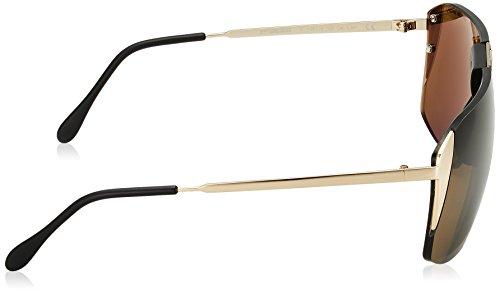 811f03be45b Porsche Design Men s P8638 P 8638 C Gold Square Sunglasses 66mm   Amazon.co.uk  Clothing
