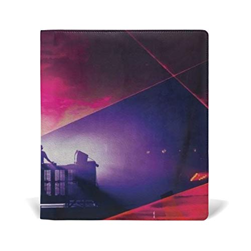 (Book Covers Rukes Showtime Leather 9 x 11 inches A4 Fit for School Textbooks Hardcover)