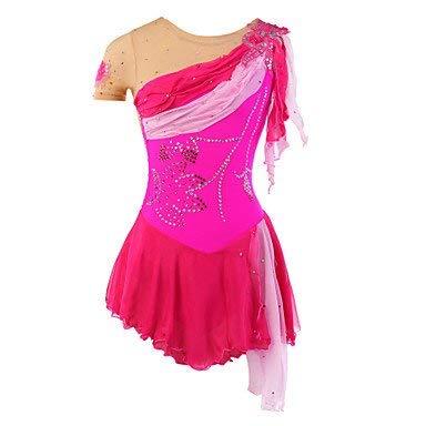 127780372834 LINGXU Handmade Roller Skating Dress Figure Skating Dress for Girls Kids  Ice Skating Competition Costume Mint
