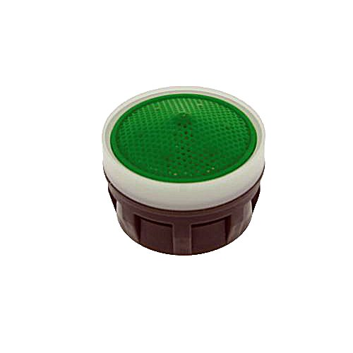 - Neoperl 10 6650 5 Perlator HC Economy Flow Small Aerator Insert with Washer, Small, 1.5 GPM, Aerated Stream, Honeycomb Screen, Green Dome, Acetal
