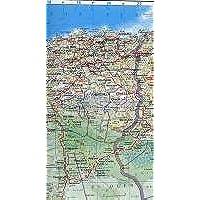 Algeria Road Map - Morocco - Tunisia 2006