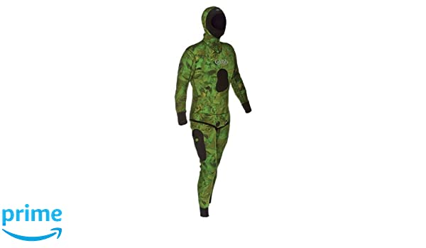 Amazon Com Jbl Sea Leaf Camouflage Wetsuit 5mm Sports Outdoors