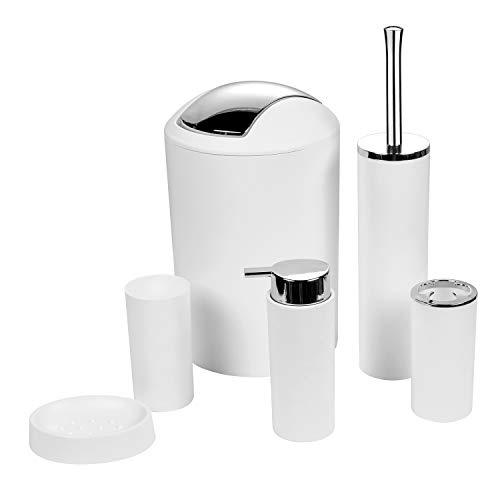 toothbrush holder and trash can - 2