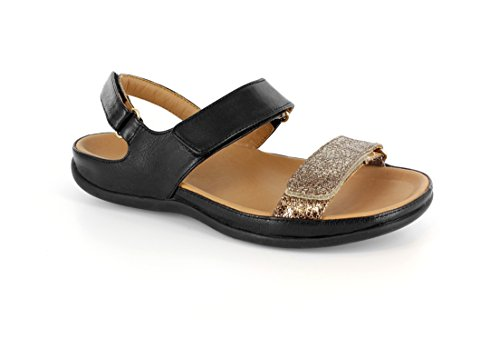 Black Efforçons Bronze orthopédiques Skin Sandale Chaussures Kona Strive Snake élégante Footwear gAqx0