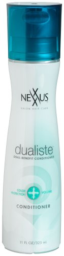 Nexxus Dualiste Conditioner Color Protection & Volume, 11Ounce Bottle (Nexxus Volumizing Conditioner)
