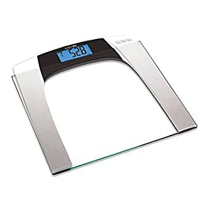 GONGYE- Camry Body Fat Monitors Digital Scale Electronic Weight Balance with Multi function and Simple Style(150kg/330lb,100g) , Silver