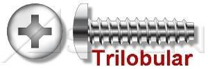 (4000pcs) 8-16X3/4 Plastite Alternative Screws Pan Phillips Drive 18-8 Stainless Steel