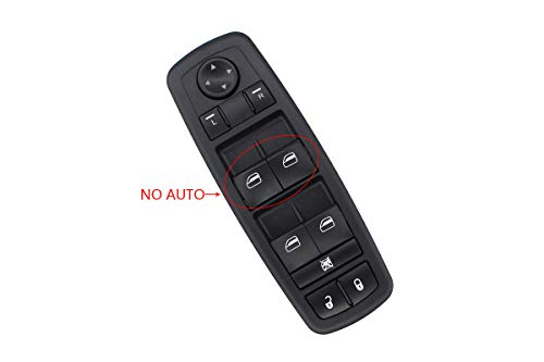 Driver Side Master Power Window Switch For Dodge Grand Caravan 2008 2009 2010 Journey 2009 2010 2011 2012 2013 2014