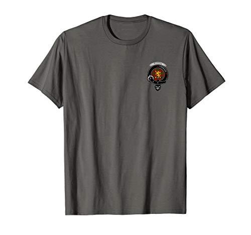 Clan Shop Cumming (Cumming Clan Badge & Tartan Map T-Shirt)
