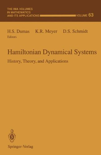 Hamiltonian Dynamical Systems: History, Theory, and Applications (The IMA Volumes in Mathematics and its Applications)