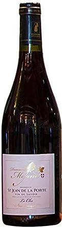 Vino artesanal Saboya tinto Mondeuse, AOP 2018, 1 botella de 75cl.