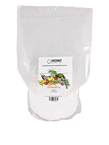 Monopotassium Phosphate Fertilizer 0-52-34 100% Water Soluble HydroponicsGreenway Biotech Brand 10 Pounds