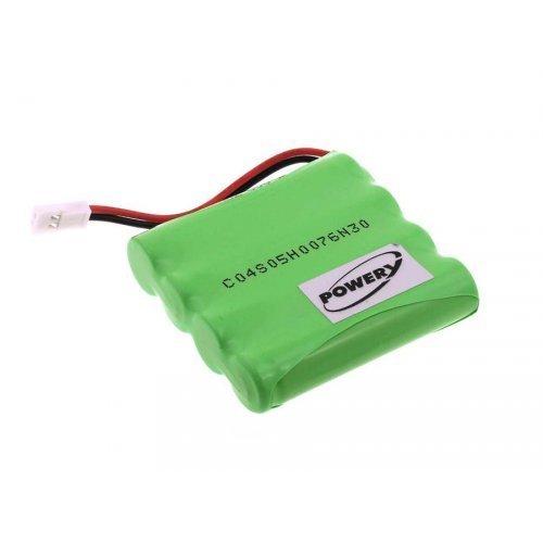 POWERY® Batteria per Babyphone Summer modello H-AAA600 1.77.SUM.999.6