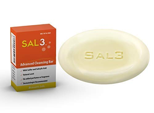 SAL3 Salicylic Acid Sulfur Soap Bar