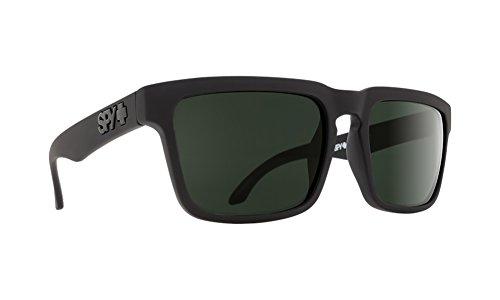 ized Flat Sunglasses, Soft Matte Black/Happy Gray/Green Polar, 57 mm (Matte Black Gray Green)