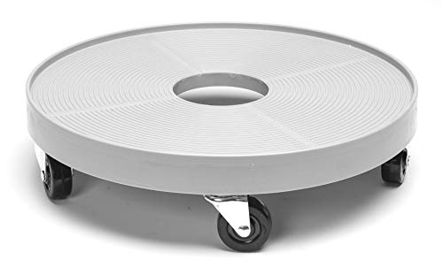 DeVault Enterprises DEV3000GM Plant Dolly, Gray Mist, 16 Inch
