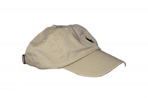 Mens Polo Ralph Lauren Classic Cap (Light Brown (Nubuck)) -