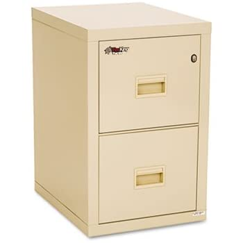 Turtle Two Drawer File, 17 3/4w X 22 1/8d, UL Listed 350? For Fire,  Parchment, Sold As 1 Each