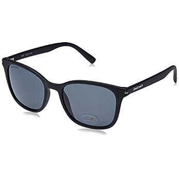 Fastrack UV Protected Square Men's Sunglasses – (P418BK3|53|Black Color Lens)