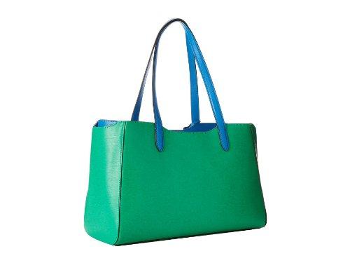 Ralph Lauren Davenport Shopper-Peppermint/French Blue