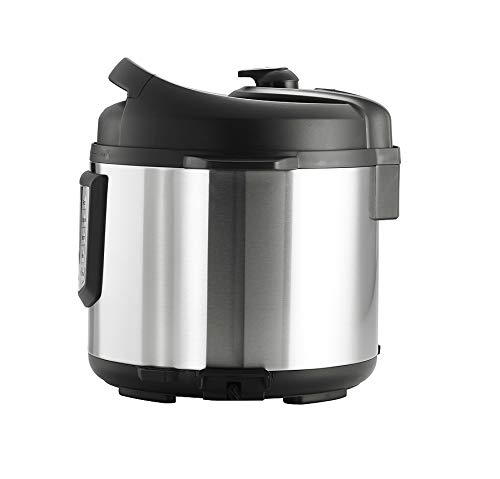 Tramontina 80130/505DS Multi-Use Electric Programmable Nonstick Inner Pot Pressure Cooker, Soup/Stew, Fish/Vegetable, Meat, Beans, Brown Rice, Chicken, Chili Cooker, 6.3-Quart by Tramontina (Image #1)