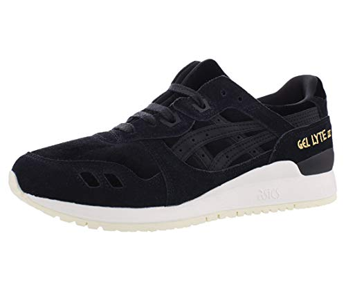 ASICS Tiger Women's Gel-Lyte III Black/Black 10 B US