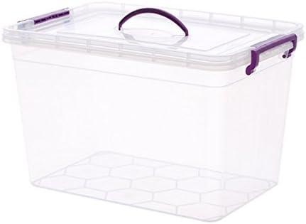 Bo Time - Caja de almacenaje Rectangular hermética para frigorífico (1 Caja de 30 L): Amazon.es: Jardín