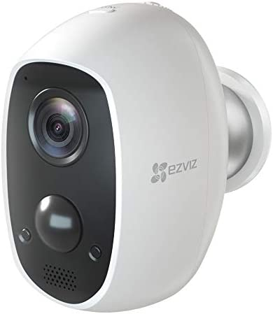 EZVIZ C3A – 100 Wire-Free 1080p Security Camera, Two-Way Audio, PIR Motion Detection, 25ft Night Vision