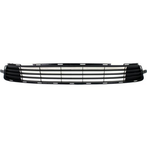 Front Bumper Grille Compatible with Toyota Corolla 2011-2013 Textured Black ()