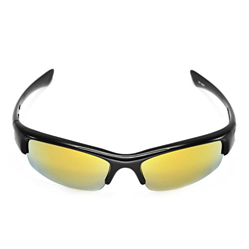 ee5cf5a95f Walleva Replacement Lenses for Oakley Bottlecap Sunglasses -Multiple Options  Available (24K Gold Mirror Coated