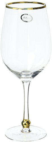 Abbott Collection Gold Rimmed Glass - Gold Rim Goblet