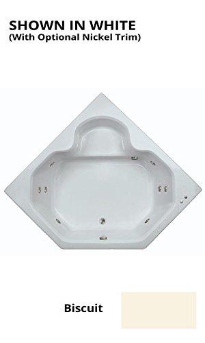 Watertech - 6048 Bone Whirlpool Bath (60 in. x 48 in.)