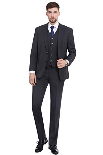 ic Fit Blazer Jacket Tux Vest & Flat Pants (2 and 3 Pcs Selection) ()