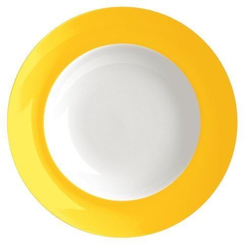 Waechtersbach Uno Soup Plates, Curry, Set of 4 for sale  Delivered anywhere in USA