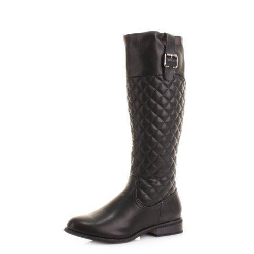 Slim Calf Knee High Boots Amazon Co Uk