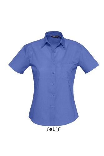 SOL´S - Ladies Poplin Shirt Energy XL,Cobalt Blue