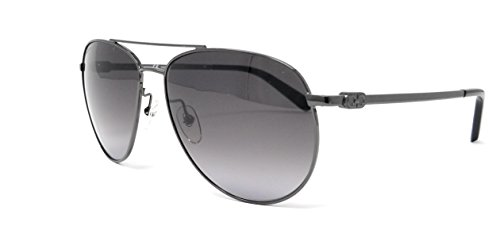 Salvatore Ferragamo Sunglasses SF157S 069 Shiny Ruthenium Aviator - Ferragamo Aviator Sunglasses