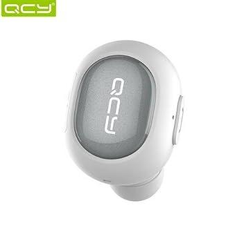 Desconocido QCY Q26 - Mini auriculares invisibles inalámbricos Bluetooth V4.1 con cancelación de ruido