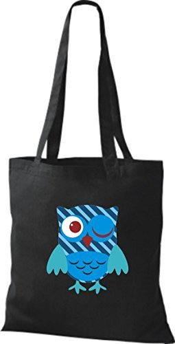 Di Shirtinstyle Donne Panno Nere Cotone Borsa YYfqE