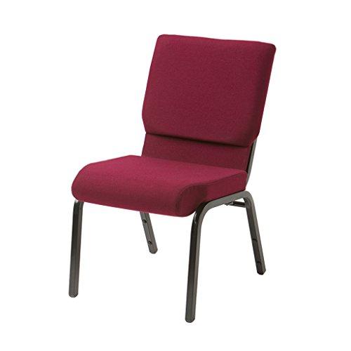 (Atlas & Lane Devotion Series Church Chair (Burgundy) - Arrives Fully Assembled)