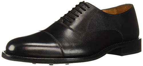 Carlos by Carlos Santana Men's Woodstock Oxford, Black Rubber, 11.5 D US ()
