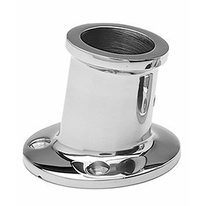 - Taylor Made Products 966 Stainless Steel Top Mount Boat Flag Pole Socket (1.25-Inch)