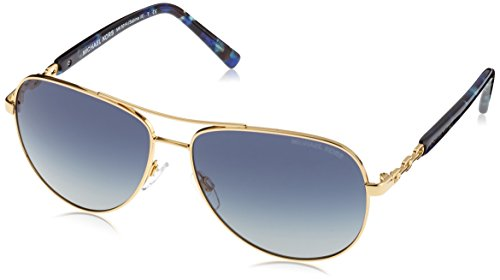 Michael Kors SABINA III MK5014 Sunglasses 10244L-59 - Gold Frame, Blue - Glasses Kors Blue Michael